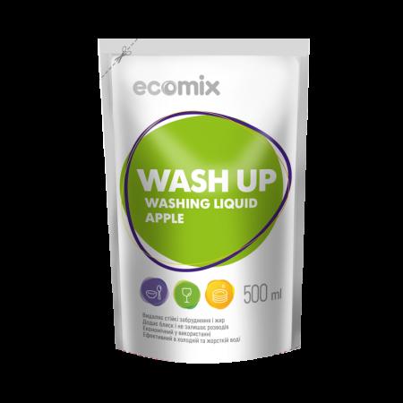 Рідкий засіб для миття посуду «Ecomix Яблоко»