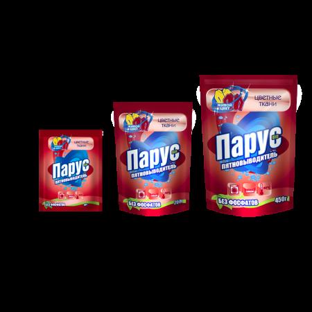 Кислородосодержащий пятновыводитель «Парус» для цветных тканей