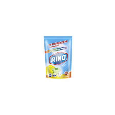 Кислородосодержащий пятновыводитель «Rino» для цветных тканей